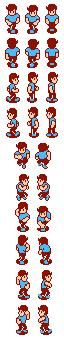 Mike's battle animation, Startropics